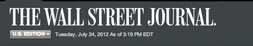 Picture of WSJ logo